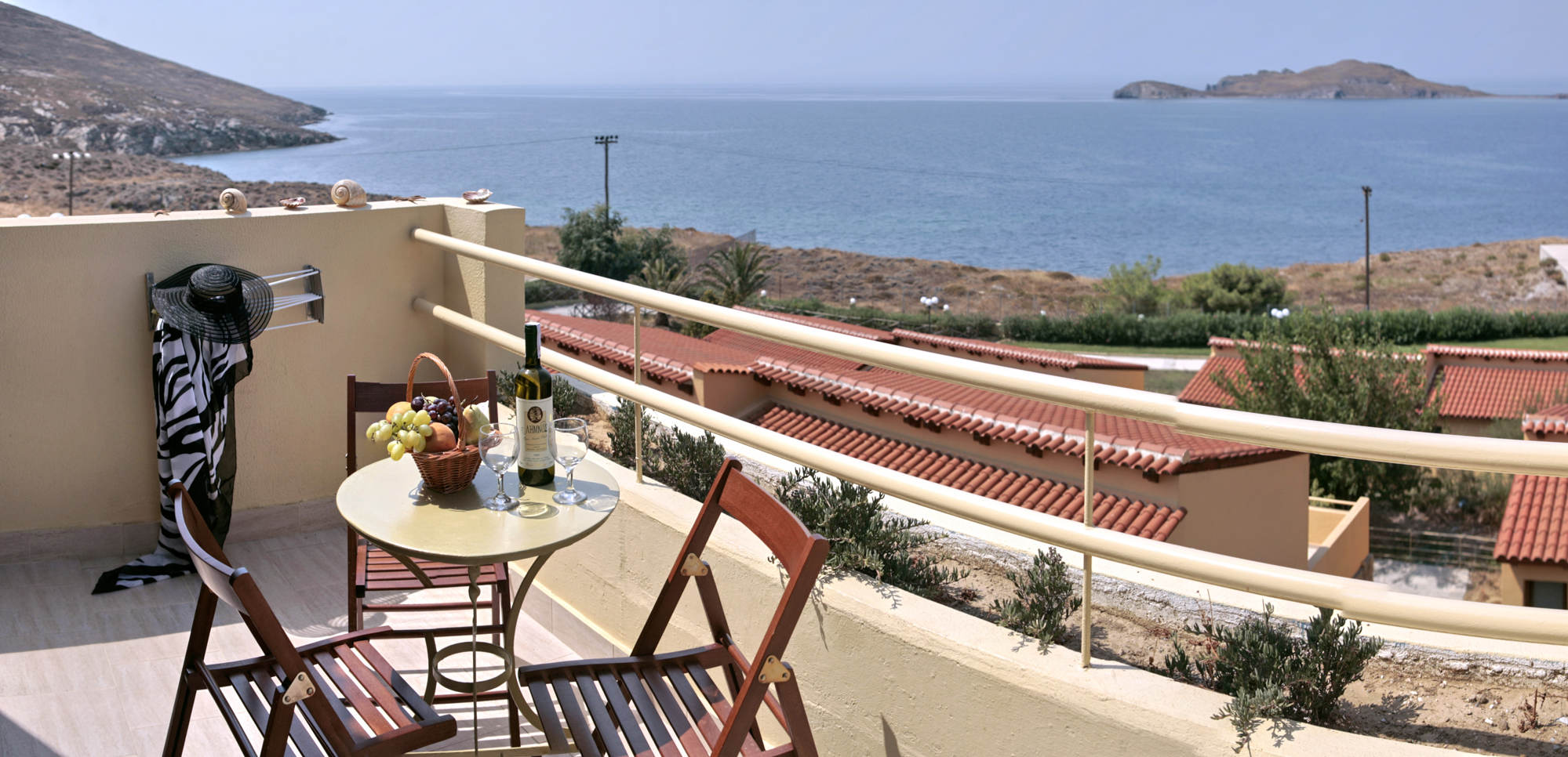 lemnos village suite balcony