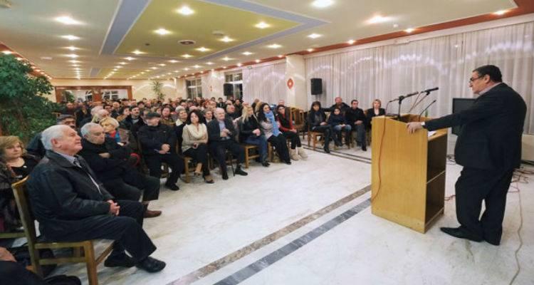 Προεκλογική ομιλία Αθανασίου στη Λήμνο